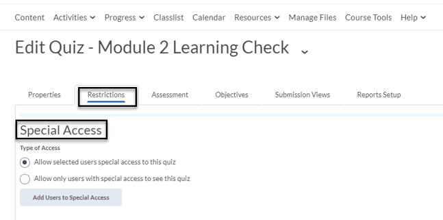SA Quiz_Restrictions tab