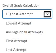 Overall Grade