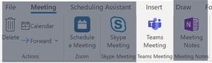 Microsoft Teams-Outlook Desktop