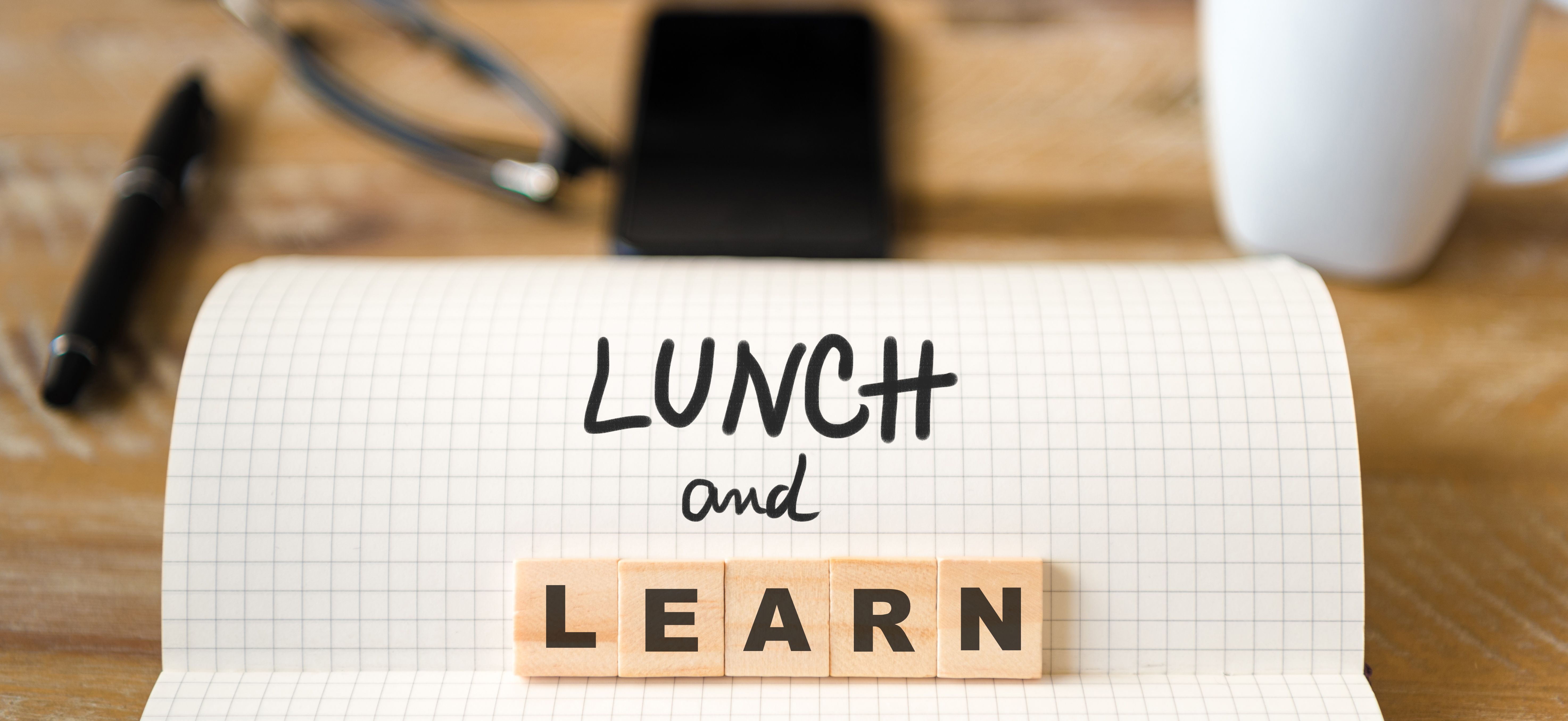 Lunch and Learn Desk